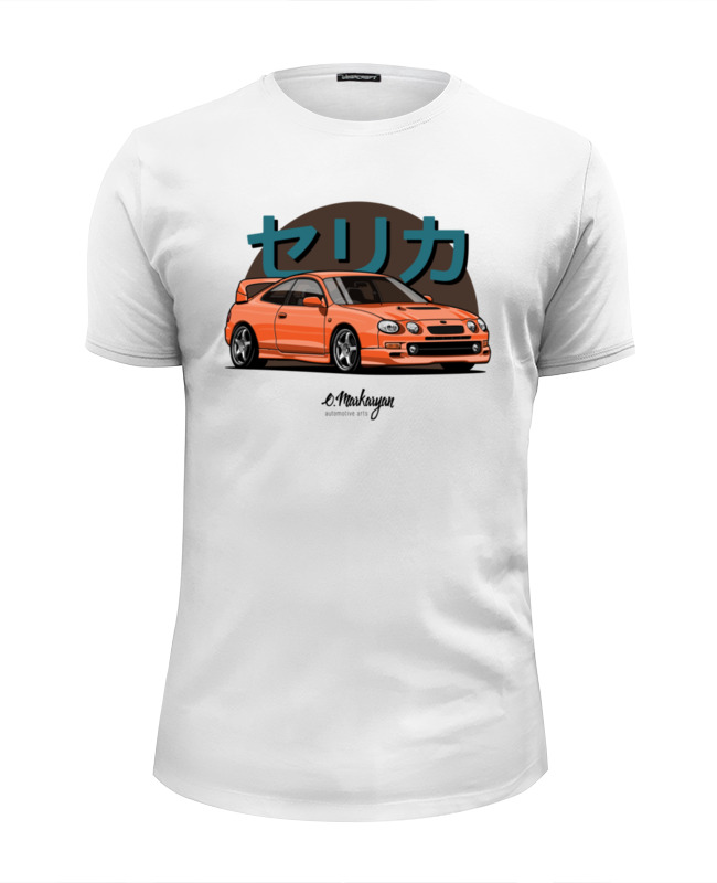 Футболка Wearcraft Premium Slim Fit Printio Toyota celica gt-four футболка wearcraft premium slim fit printio toyota celica gt four