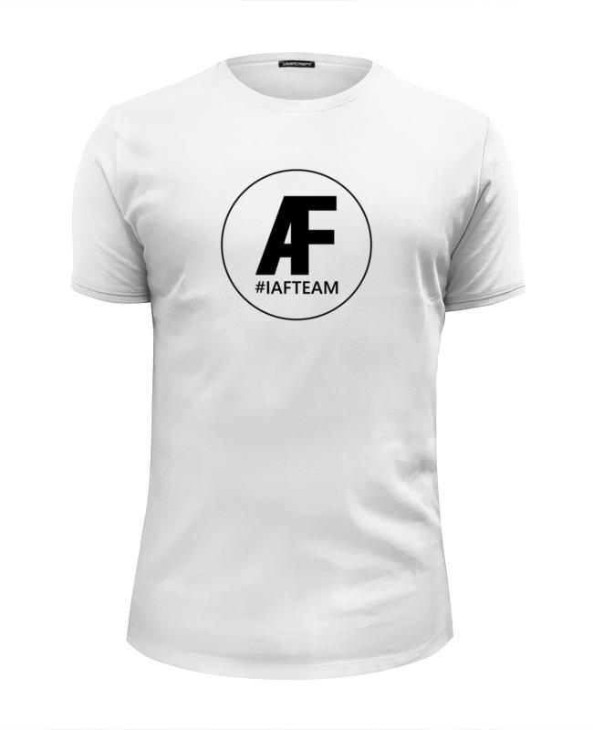 Футболка Wearcraft Premium Slim Fit Printio Iafteam футболка wearcraft premium slim fit printio joy
