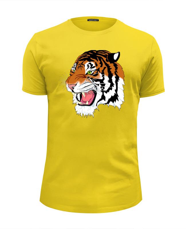 Футболка Wearcraft Premium Slim Fit Printio Тигр футболка wearcraft premium slim fit printio марио тигр