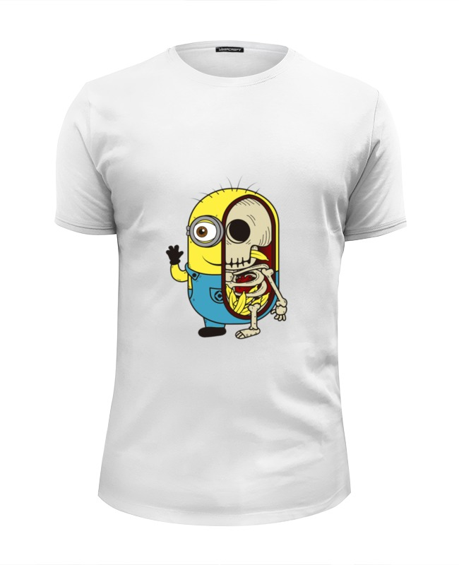 Футболка Wearcraft Premium Slim Fit Printio Minion anatomia футболка wearcraft premium slim fit printio minion anatomia