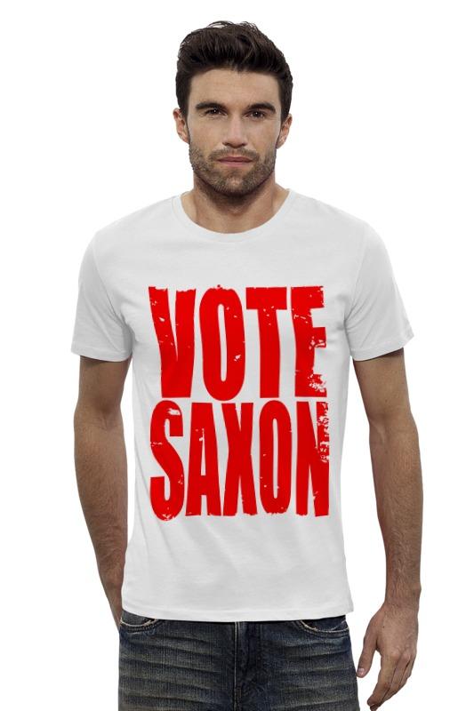 Футболка Wearcraft Premium Slim Fit Printio Vote saxon (doctor who) футболка рингер printio доктор кто doctor who