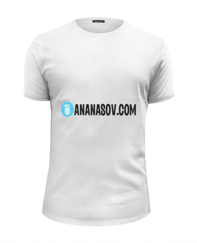 Футболка Wearcraft Premium Slim Fit Printio Ananasov.com футболка wearcraft premium slim fit printio spider minion