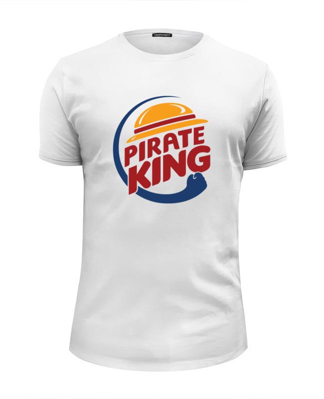 Футболка Wearcraft Premium Slim Fit Printio Король пиратов (соломенная шляпа) шляпы krife шляпа