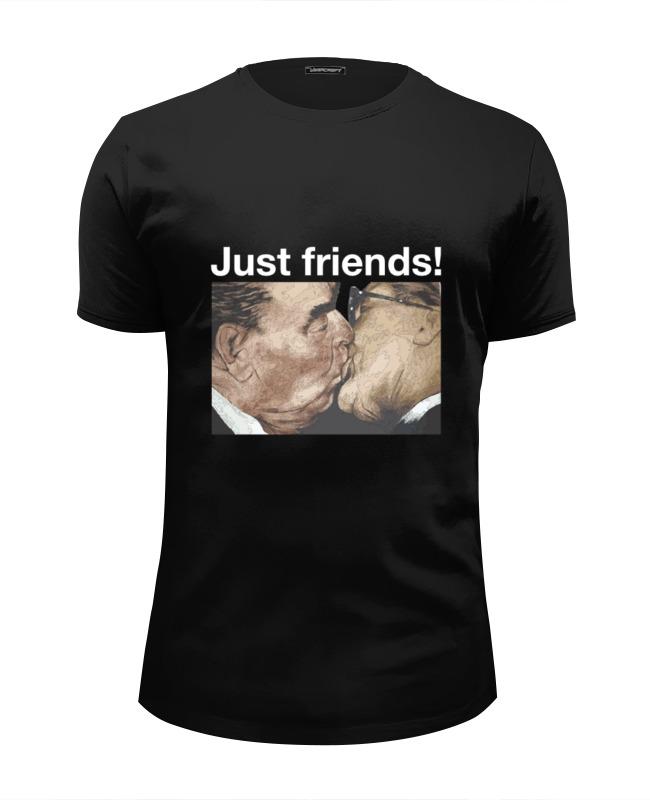 Футболка Wearcraft Premium Slim Fit Printio Брежнев футболка wearcraft premium printio брежнев