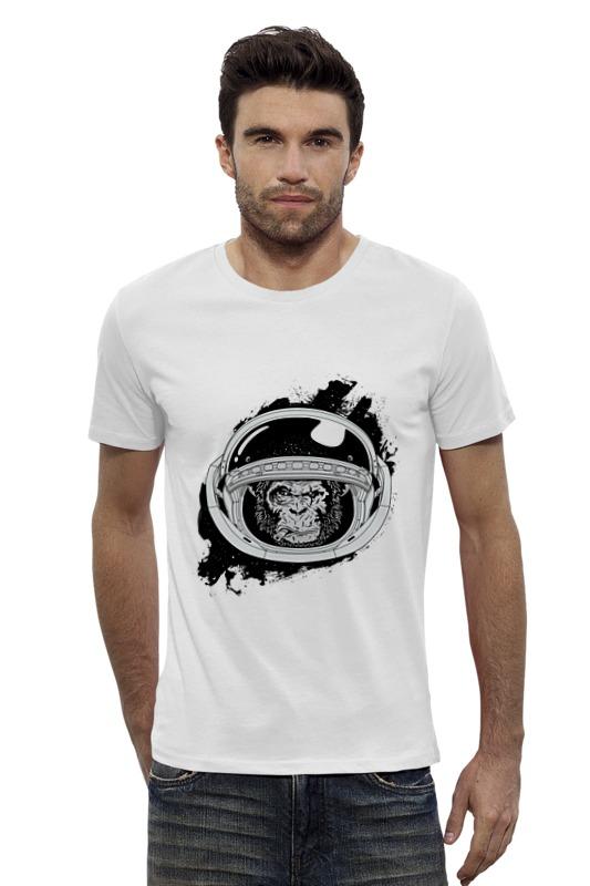 Футболка Wearcraft Premium Slim Fit Printio Space monkey (космическая обезьяна) футболка wearcraft premium slim fit printio space jam x jordan