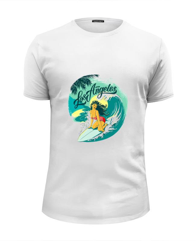 Футболка Wearcraft Premium Slim Fit Printio Лос-анжелес футболка wearcraft premium printio лос анжелес