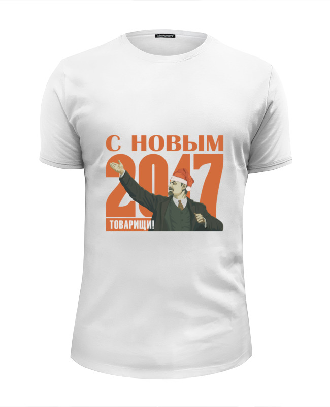 Футболка Wearcraft Premium Slim Fit Printio С новым 2017 пуховик conso wear conso wear mp002xw1h3us