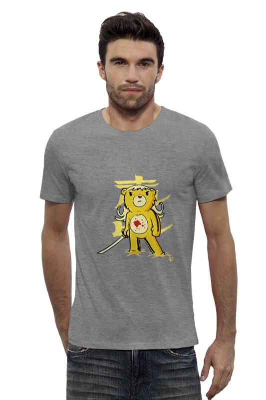 Футболка Wearcraft Premium Slim Fit Printio Медведь (убить билла) футболка для беременных printio убить билла
