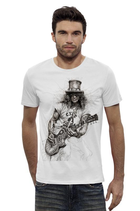 Футболка Wearcraft Premium Slim Fit Printio Slash (guns n' roses) футболка wearcraft premium slim fit printio guns n roses