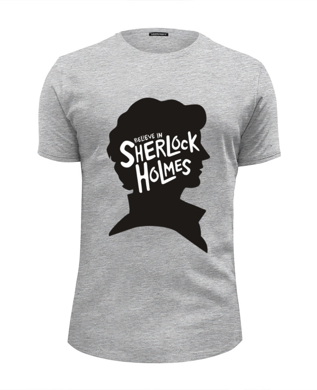 Футболка Wearcraft Premium Slim Fit Printio Believe in sherlock футболка print bar believe in sherlock