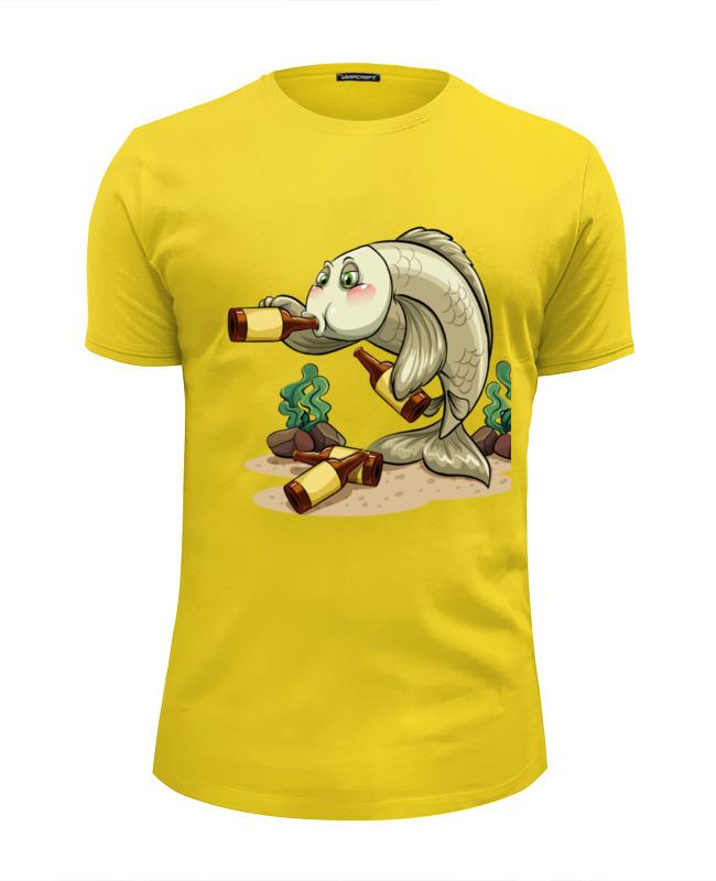 Футболка Wearcraft Premium Slim Fit Printio Пьяный окунь (1) футболка wearcraft premium slim fit printio окунь