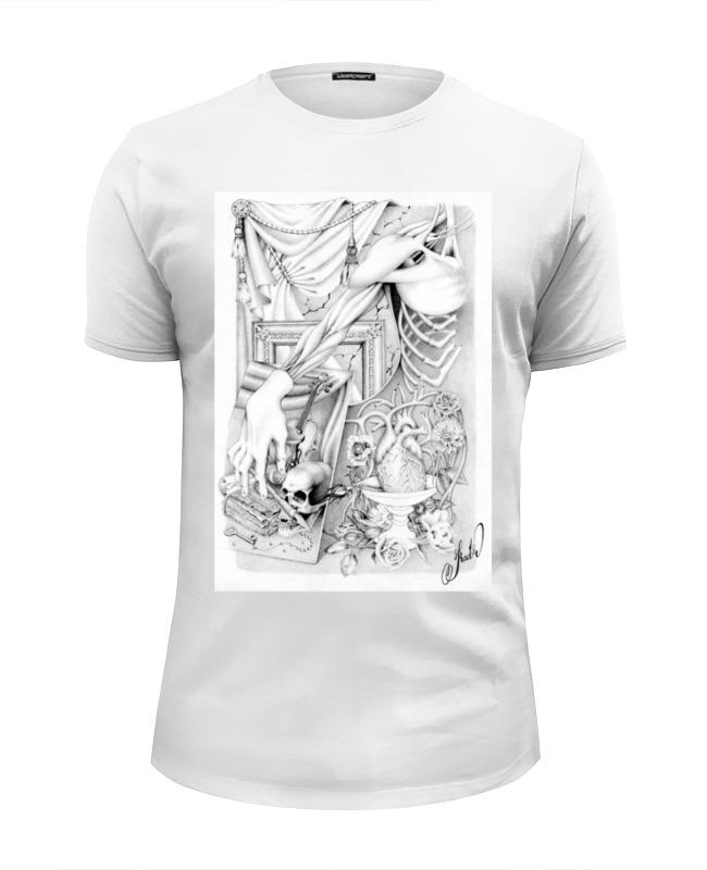 Футболка Wearcraft Premium Slim Fit Printio Рисунок от kadr футболка klingel цвет синий белый рисунок