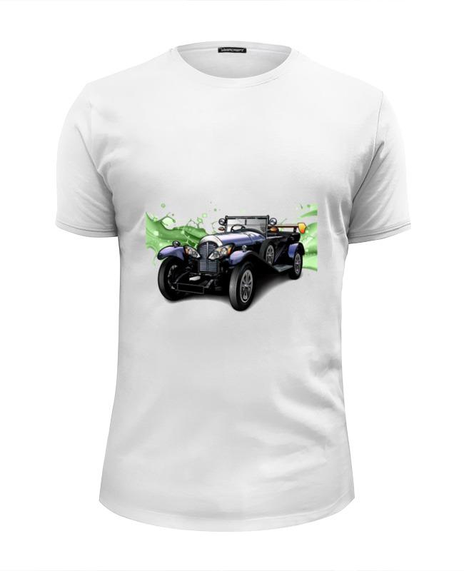Printio Ретро автомобиль футболка wearcraft premium slim fit printio автомобиль