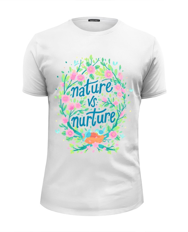 Printio Nature vs nurture футболка wearcraft premium slim fit printio nature s prophet dota 2