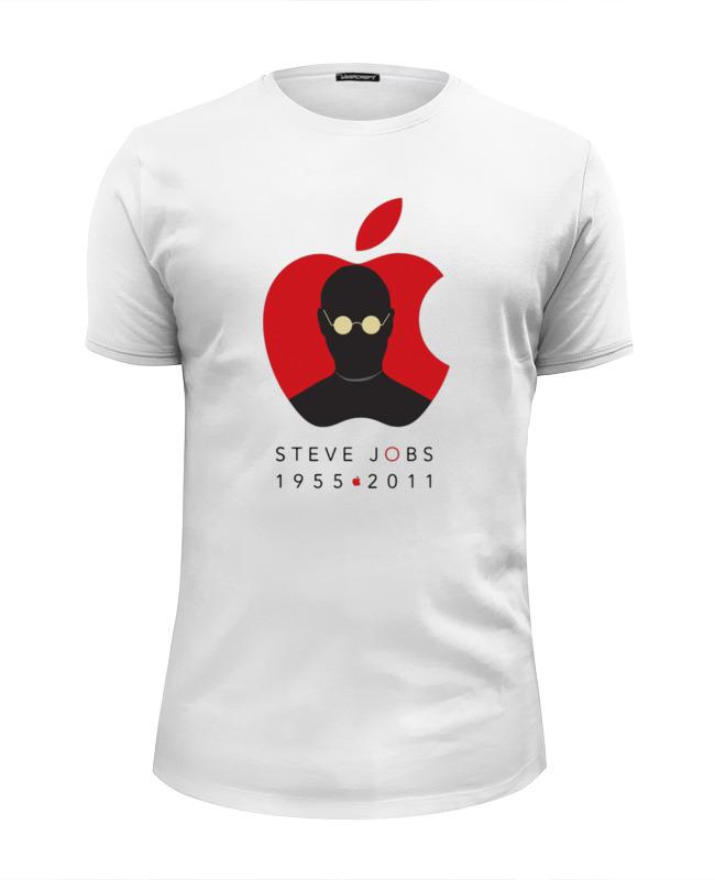 Printio Steve jobs футболка wearcraft premium slim fit printio steve jobs