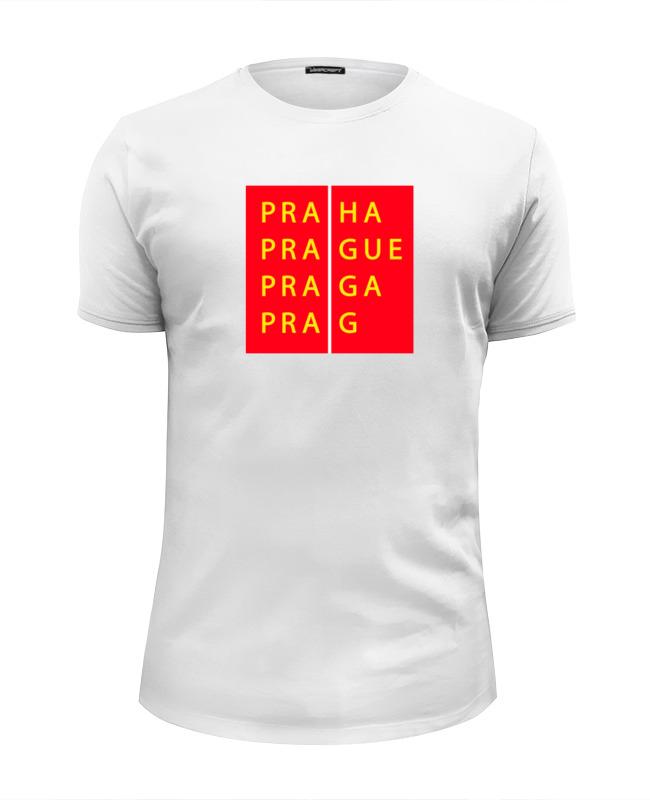 Футболка Wearcraft Premium Slim Fit Printio Прага кшиштоф курек национальная галерея прага