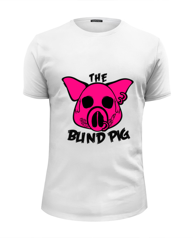 Футболка Wearcraft Premium Slim Fit Printio The blind pig #2 favourite multivello 1157 8p