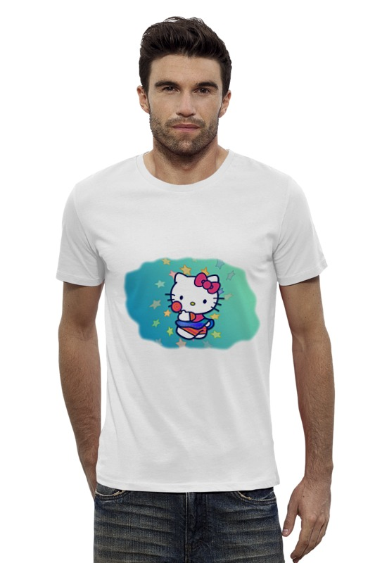 Футболка Wearcraft Premium Slim Fit Printio Kitty футболка wearcraft premium slim fit printio hello kitty x avengers