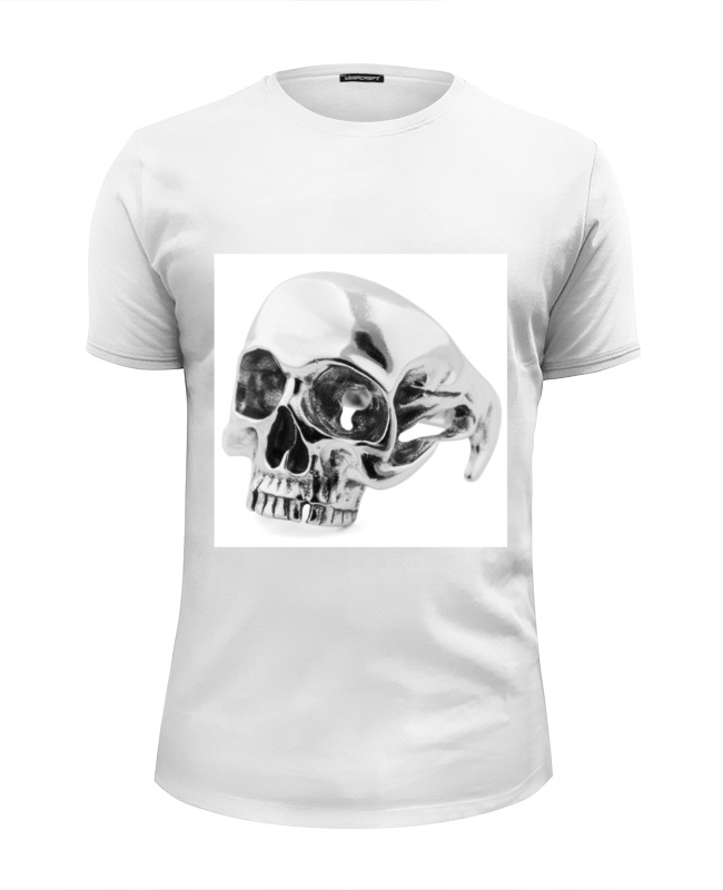 Футболка Wearcraft Premium Slim Fit Printio Skull - 24 футболка wearcraft premium slim fit printio skull man