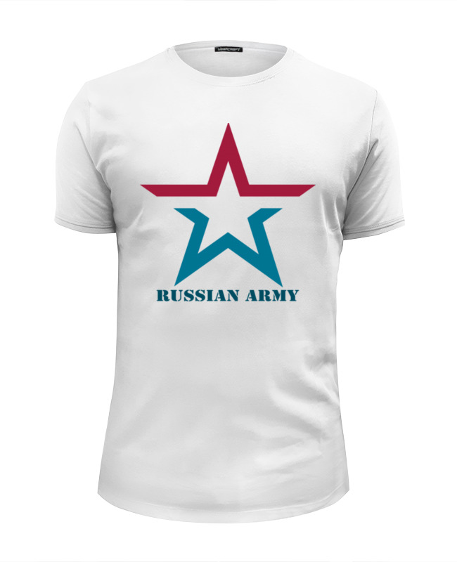 Футболка Wearcraft Premium Slim Fit Printio russian army