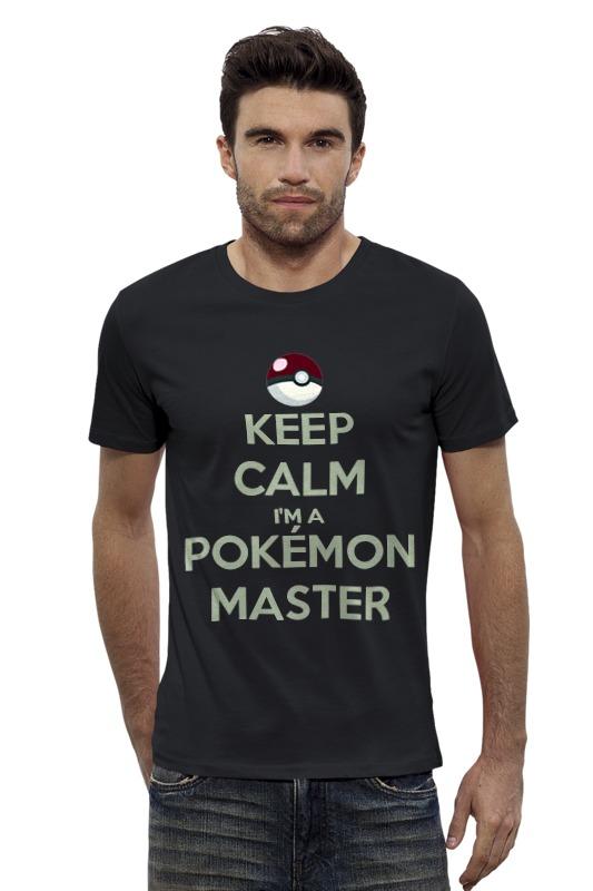 Футболка Wearcraft Premium Slim Fit Printio Pokemon master футболка wearcraft premium slim fit printio pokemon raichu