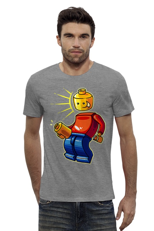 Футболка Wearcraft Premium Slim Fit Printio Лего (lego) футболка wearcraft premium slim fit printio мстители лего