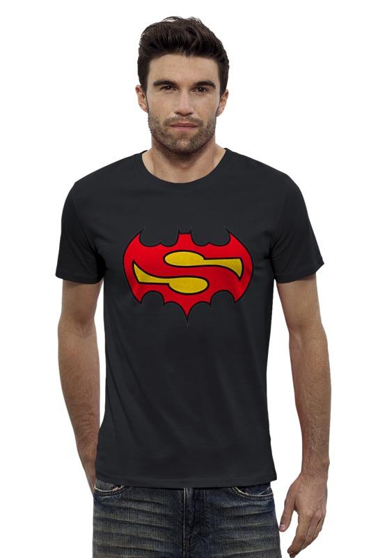 Футболка Wearcraft Premium Slim Fit Printio Superman x batman лонгслив printio ice king x batman
