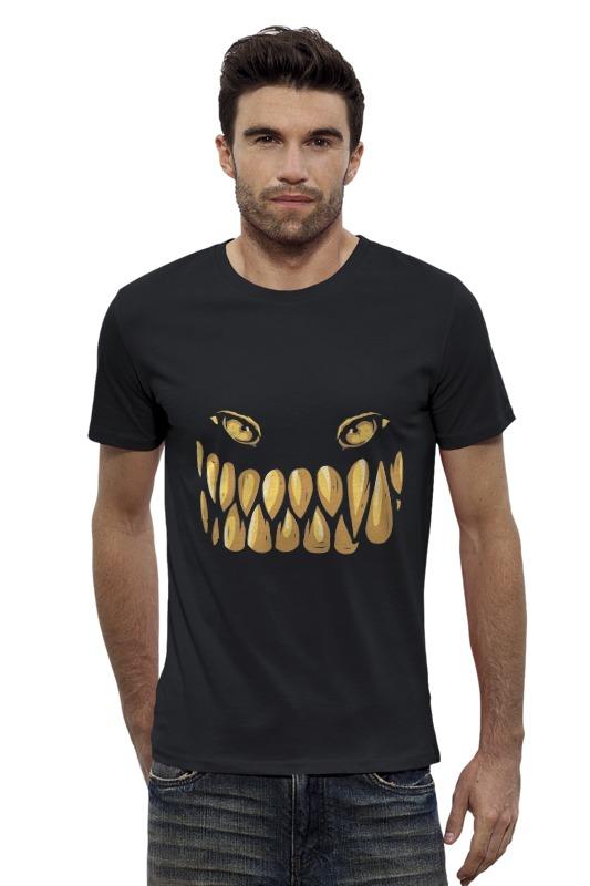 Футболка Wearcraft Premium Slim Fit Printio Монстрик футболка wearcraft premium slim fit printio рыбка