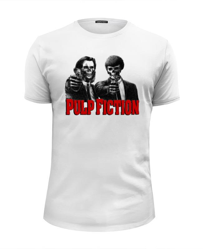 Футболка Wearcraft Premium Slim Fit Printio Pulp fiction футболка wearcraft premium slim fit printio pulp fiction martin and lewis