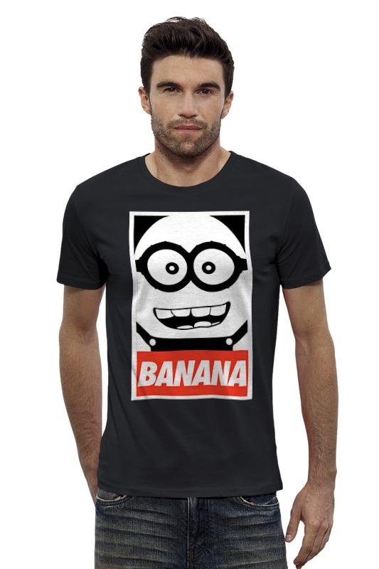 Футболка Wearcraft Premium Slim Fit Printio Banana футболка wearcraft premium slim fit printio кит ричардс