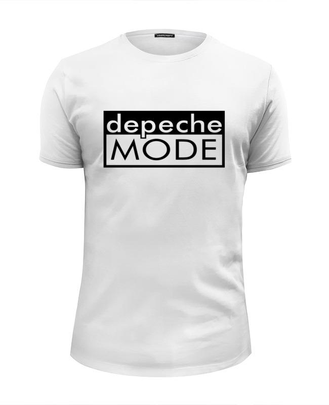 Футболка Wearcraft Premium Slim Fit Printio Depeche mode футболка рингер printio depeche mode