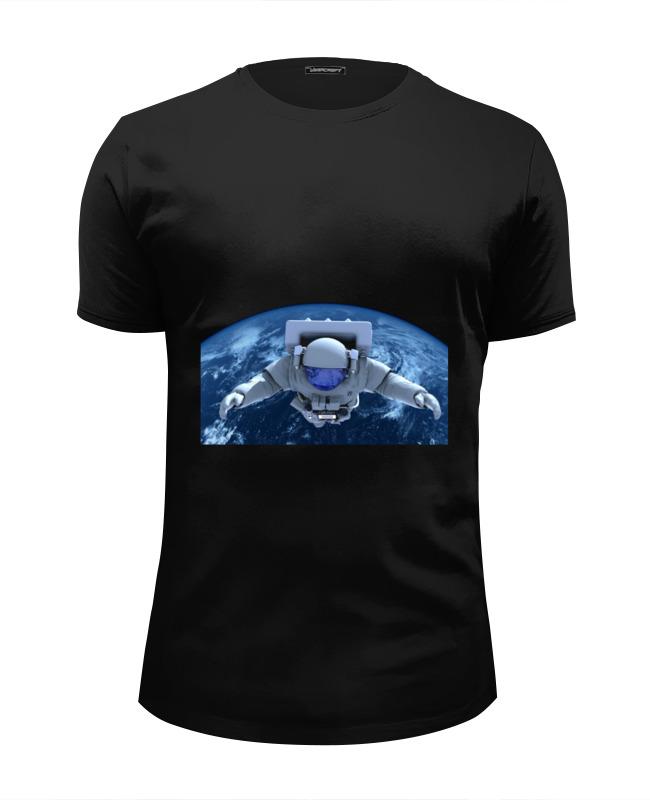 Футболка Wearcraft Premium Slim Fit Printio Путешествие в космос футболка wearcraft premium slim fit printio космос