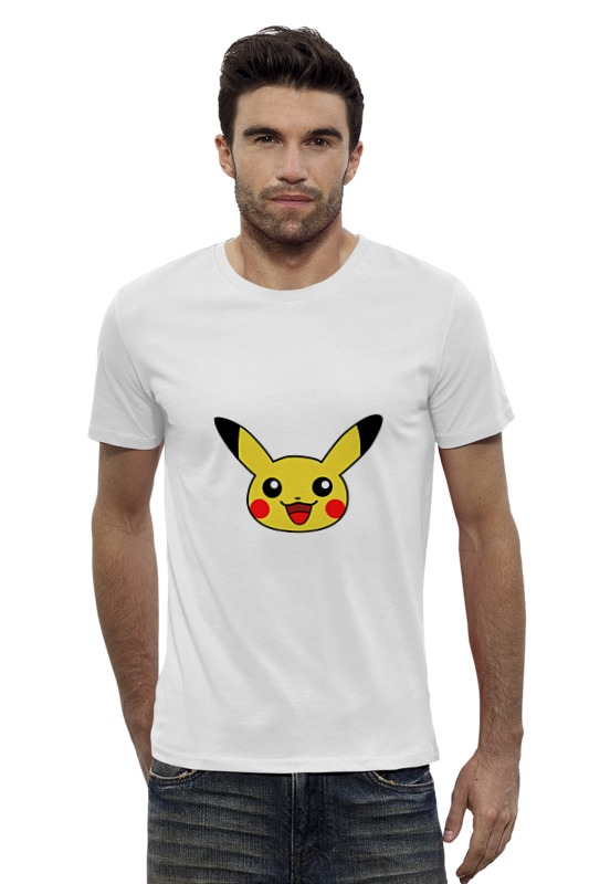 Футболка Wearcraft Premium Slim Fit Printio Pokemon go pika футболка wearcraft premium slim fit printio pokemon raichu