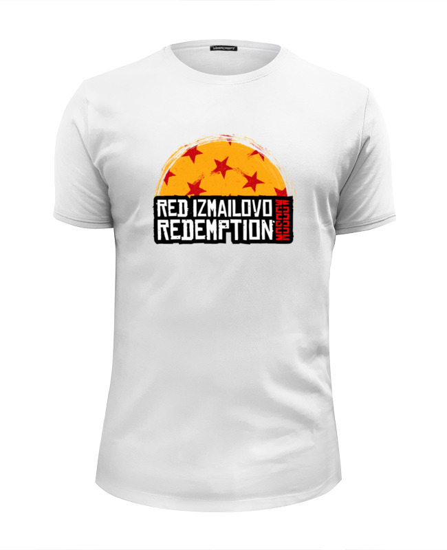 все цены на Футболка Wearcraft Premium Slim Fit Printio Red izmailovo moscow redemption онлайн