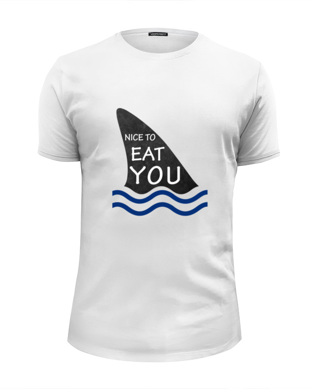 Футболка Wearcraft Premium Slim Fit Printio Nice to eat you футболка wearcraft premium slim fit printio nice to eat you