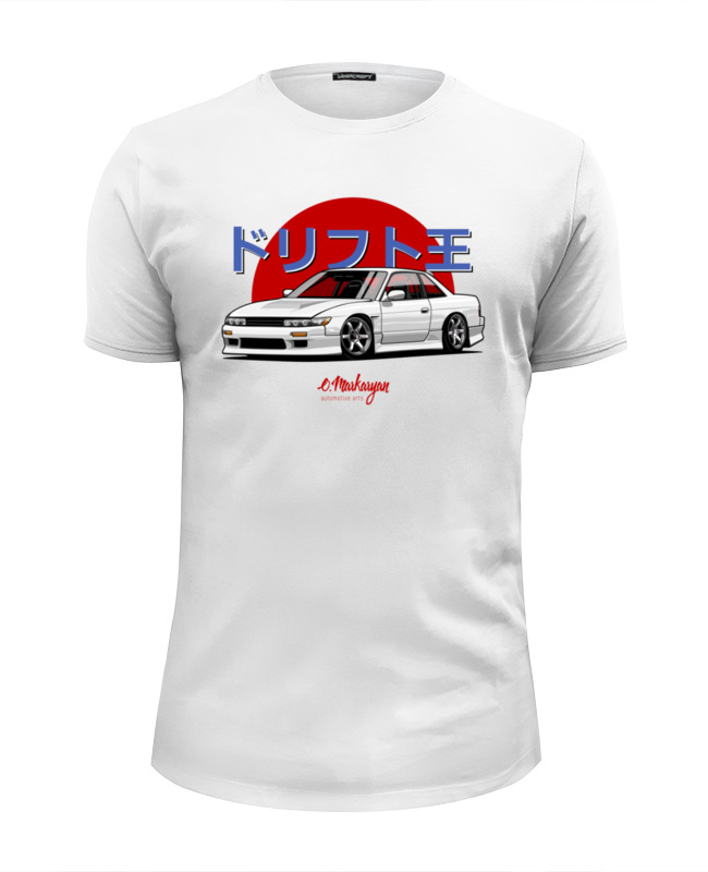 Футболка Wearcraft Premium Slim Fit Printio Nissan silvia s13 hpi nissan s13 discount tire 4wd 2 4ghz