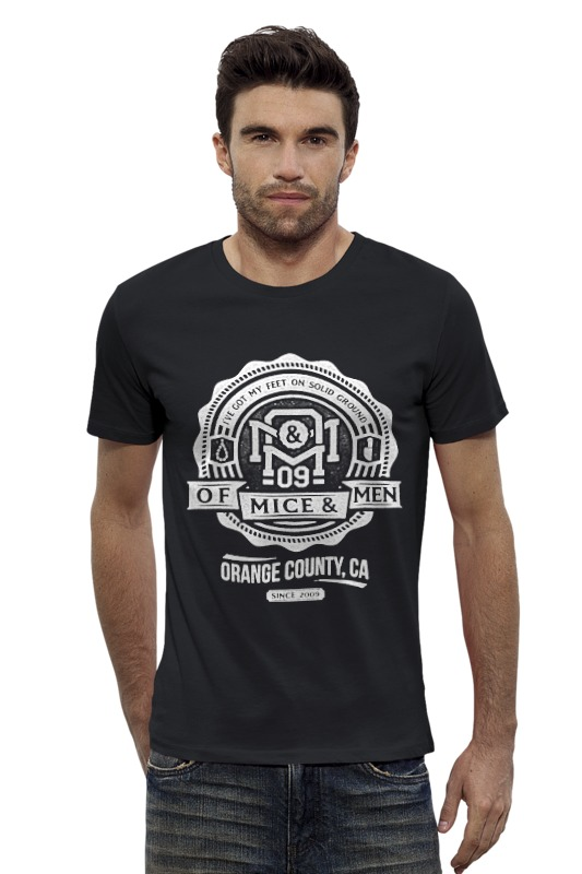 Футболка Wearcraft Premium Slim Fit Printio Of mice & men футболка wearcraft premium printio sadhus of india