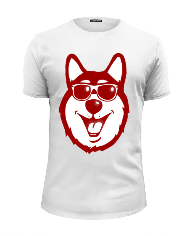 Футболка Wearcraft Premium Slim Fit Printio Hell yeah dog. (крутая собака) футболка wearcraft premium printio hell yeah
