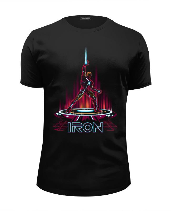 Футболка Wearcraft Premium Slim Fit Printio Железный человек футболка wearcraft premium slim fit printio ктулху железный человек