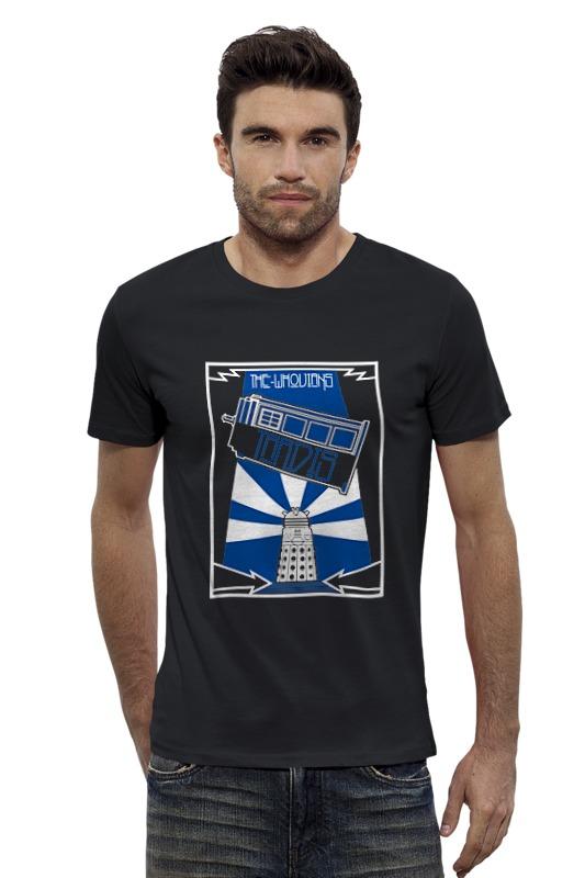 Футболка Wearcraft Premium Slim Fit Printio Тардис (доктор кто) футболка wearcraft premium slim fit printio космический кит