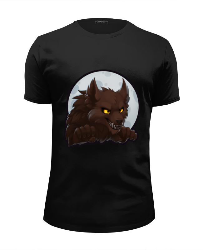 Футболка Wearcraft Premium Slim Fit Printio Werewolf футболка wearcraft premium slim fit printio добро пожаловать