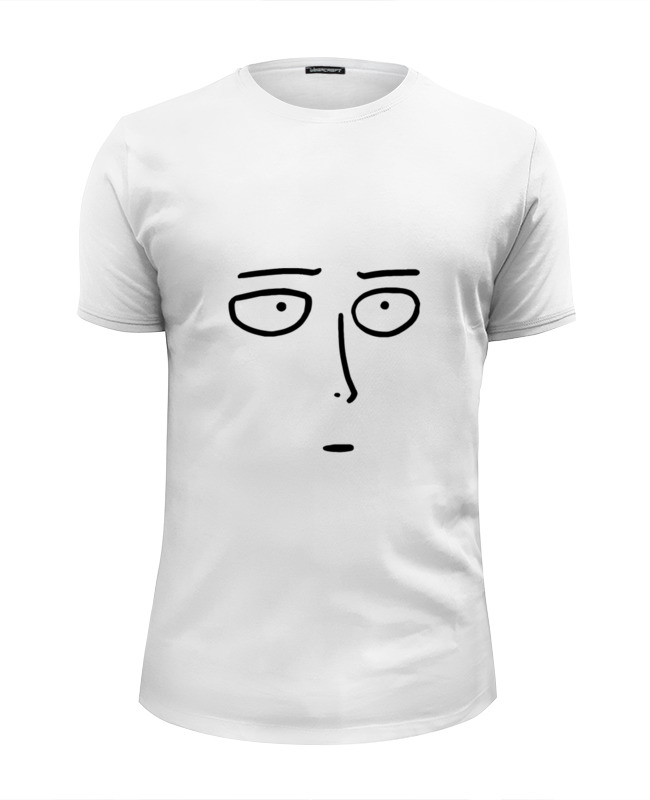 Футболка Wearcraft Premium Slim Fit Printio Сайтама футболка wearcraft premium slim fit printio spider man