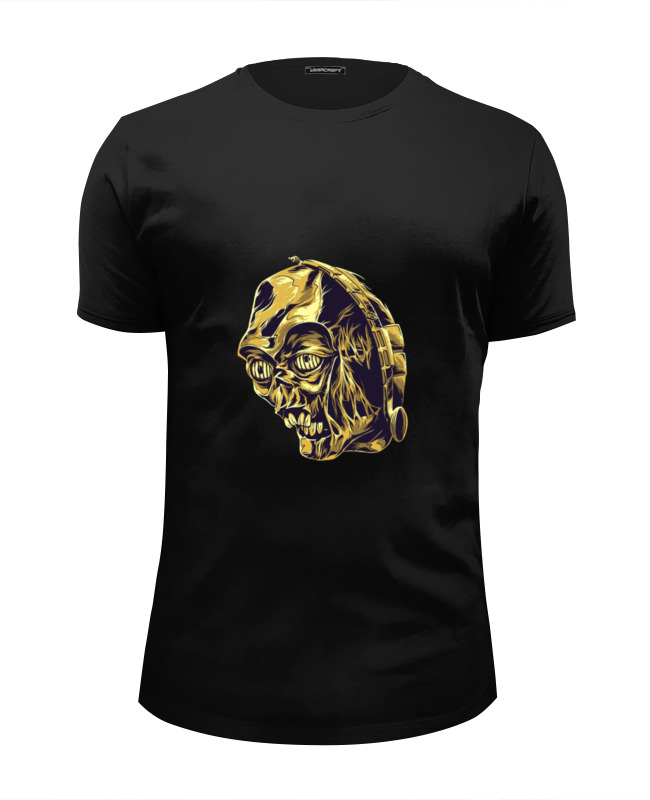 Футболка Wearcraft Premium Slim Fit Printio Dead c-3po harris c club dead isbn 9780575089402