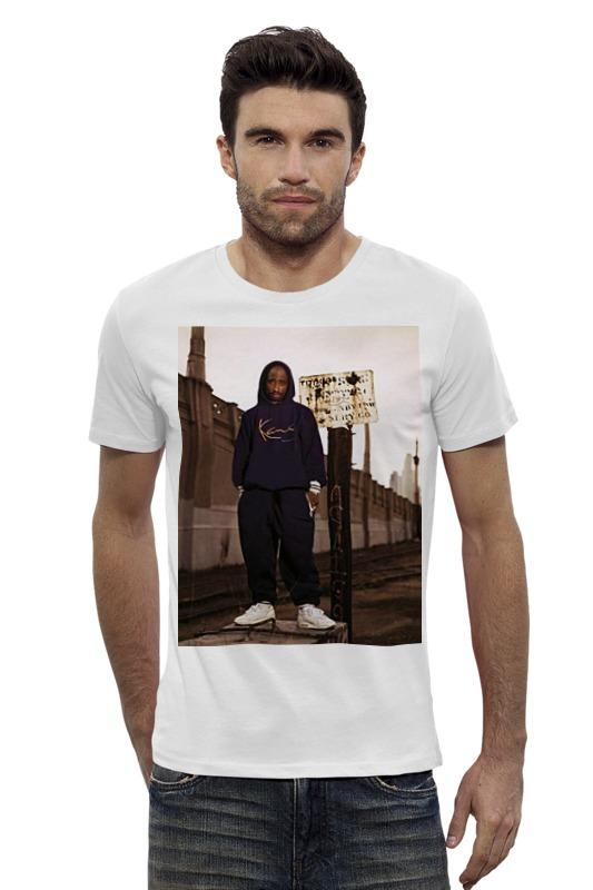 Футболка Wearcraft Premium Slim Fit Printio Tupac amaru shakur футболка wearcraft premium printio 2pac tupac