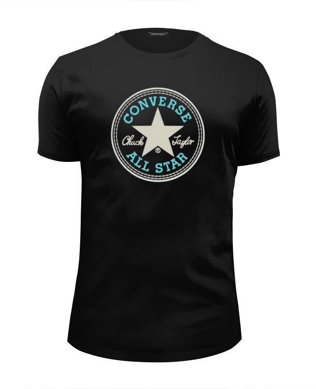 Футболка Wearcraft Premium Slim Fit Printio Converse all star футболка мужская cms 110000 all star logo