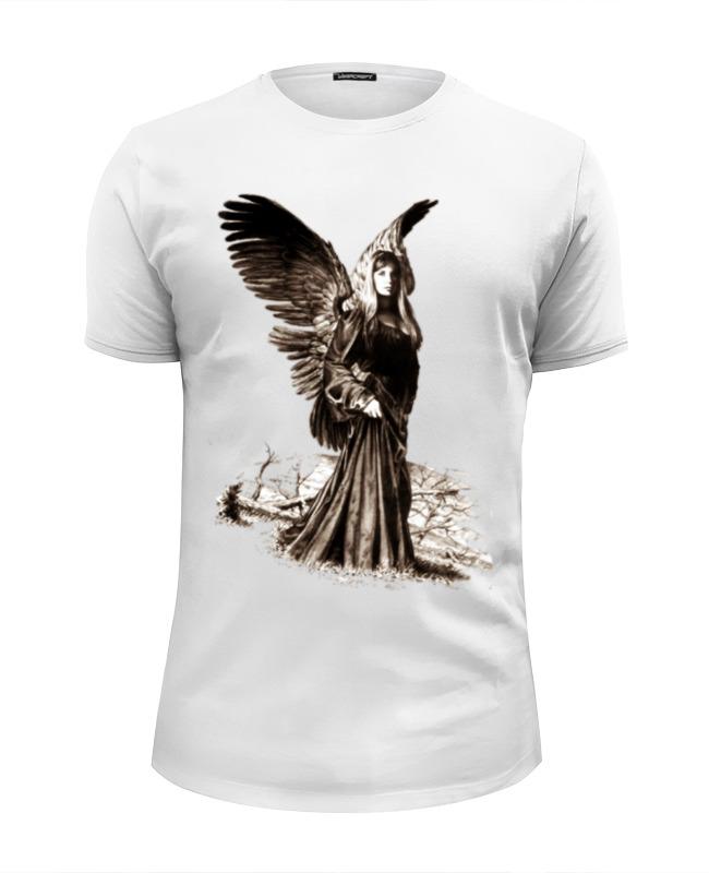 все цены на Футболка Wearcraft Premium Slim Fit Printio Прекрасный ангел онлайн