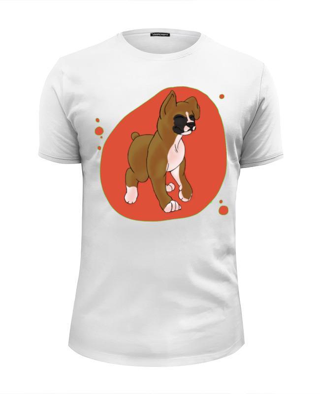 Футболка Wearcraft Premium Slim Fit Printio Boxers puppy футболка wearcraft premium slim fit printio skinny puppy
