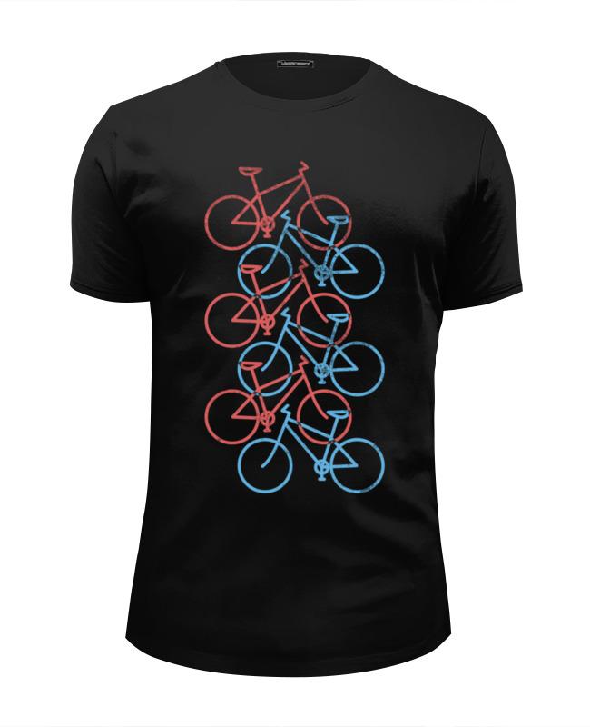 Футболка Wearcraft Premium Slim Fit Printio Велосипеды двухколесные велосипеды novatrack maple 14