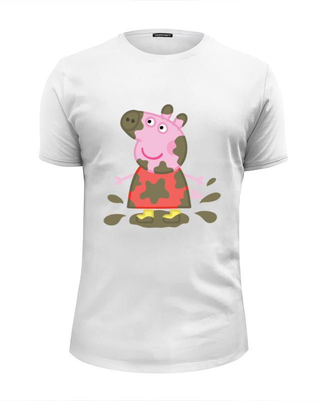 Футболка Wearcraft Premium Slim Fit Printio Peppa pig сумки для детей свинка пеппа peppa pig рюкзачок малый superstar
