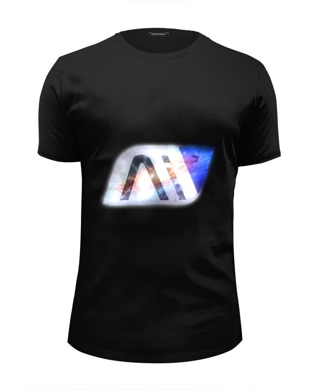 Футболка Wearcraft Premium Slim Fit Printio Mass effect andromeda кепка printio mass effect andromeda